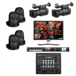 Livestream set