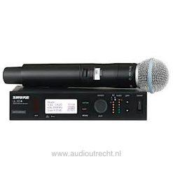 Shure ulxd4 handheld Draadloze microfoon