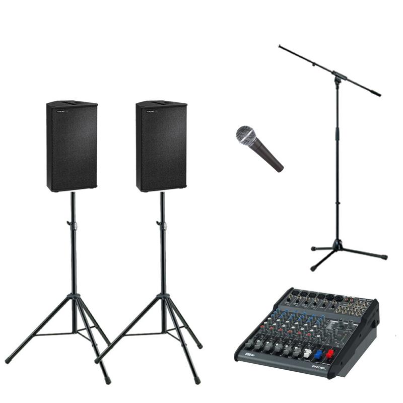 Presentatie geluidsset 1
